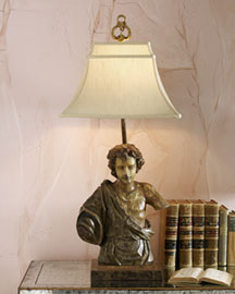 Horchow Bust Lamp