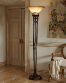 Horchow Torchere Floor Lamp