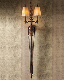 "Horchow ""Raphael"" Wall Sconce"