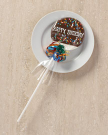 Horchow Happy Birthday Lollipop Set