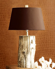 Horchow Driftwood Lamp