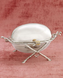Horchow Revolving Butter Dish