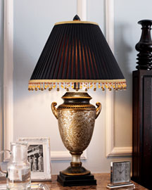 "Horchow ""Damask"" Lamp"