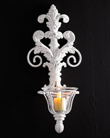 Horchow Hurricane Wall Sconce