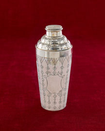 Horchow Floral Cocktail Shaker
