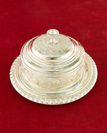 Horchow Covered Cheese Dish