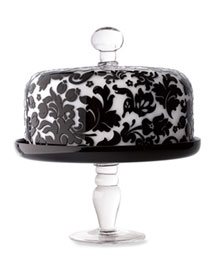 Covered Cake Plate -  Horchow from horchow.com