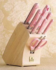Horchow  -  Mundial 10-Piece Knife Block Set $200