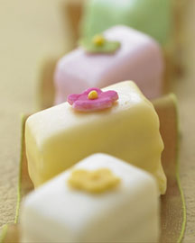Horchow Spring Flowers Petits Fours