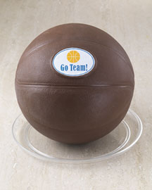Horchow Chocolate Basketball