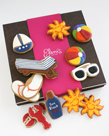 Horchow Summertime Cookie Gift Box