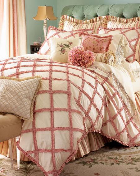 مفارش سرير غرف نوم روووعه قمة فى الشياكة والاناقة