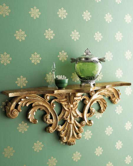 على الجمالية التي يضيفها الرف في المنزل التصاميم و التشكيلات