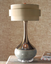 John-Richard Collection Orbit-Shade Lamp