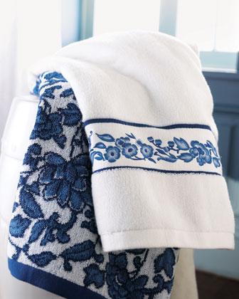24×48 Center Stripe Bath Towel, 8 lb/doz