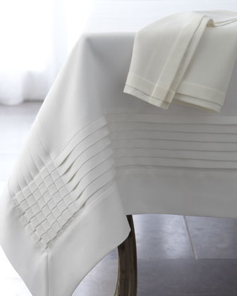 Multi-Pleated Tablecloth, 72