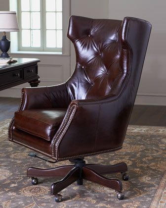 Office Chairs, Desk Chairs & Leather Office Chairs | Horchow