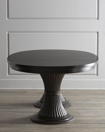 Handcrafted Pedestal Table | horchow.com | Handcrafted Pedestal Desk